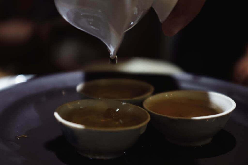 宋种单丛茶的茶汤